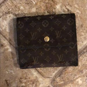 Louis Vuitton Monogram Wallet w/ Coin Pouch - Auth